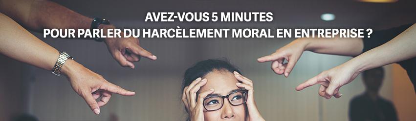Harcèlement moral, souffrance au travail ou agissements hostiles ? - Enquête anonyme de l'IEDRS harcèlement moral en entreprise.
