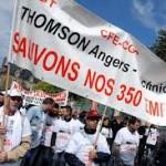 Thomson Angers fermeture et licenciement se profilent
