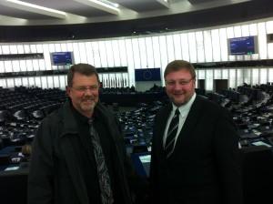 L'IEDRS reçu par Nathalie GRIESBECK au Parlement Européen à Strasbourg