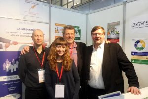 L'équipe de l'IEDRS au Salon Solutions RH de Paris