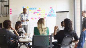 la technique du post-it pour développer la qualité de vie au travail