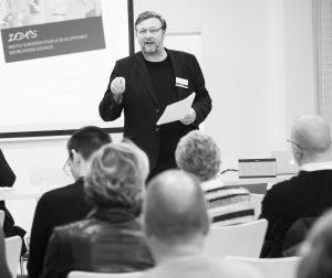 """Christian Bos, directeur de l'IEDRS, animera le workshop """"Médiation en entreprise"""""""