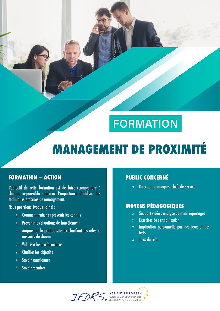Formation INTRA entreprise