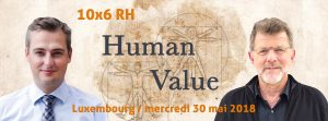 L'IEDRS orateur à l'événement 10x6 : human value